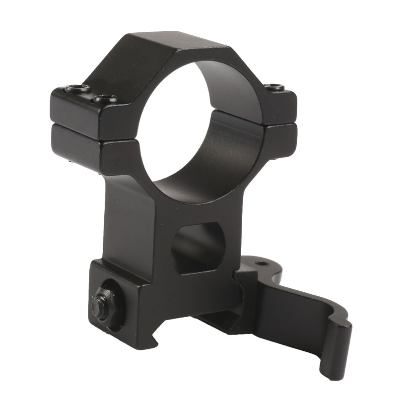 Quick-Release Scope-Mount Picatinny-Rail High-Ring 20mm Hunting Weaver QD 1-Caza