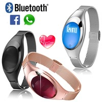 Bluetooth Z18 Smart Wrist Band 2 Watch Cicret Bracelet Blood Oxygen Pressure Heart Rate Monitor For