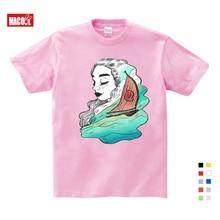 2019 New Boys Girls T-shirt Kids Tees Baby Girl Shirts Cartoon Moana Ocean Romance Children Short Sleeve Vaiana T Shirt Tops стоимость