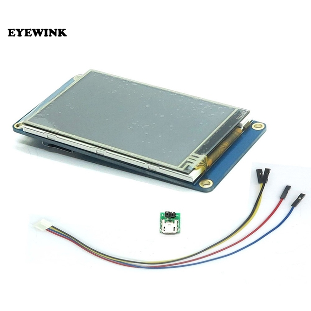 "EYEWINK Nextion 3.2"" TFT 400X240 Touch Screen Display HMI LCD Display Module Touch Panel for arduino TFT raspberry pi"
