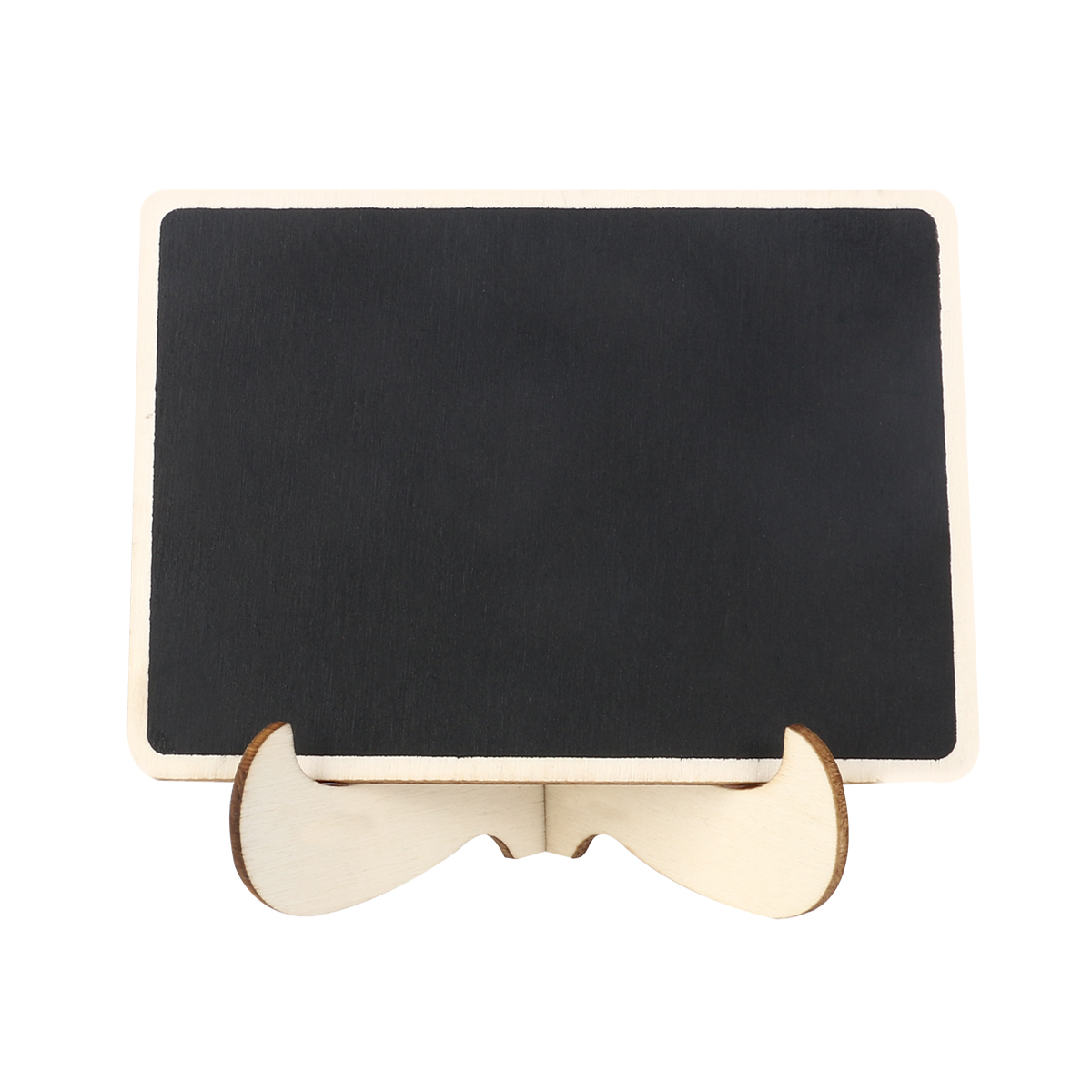 Mini Chalkboard Easel Wooden Miniature Blackboard Sign With Stand Message Board For Wedding Table Labels Party Supplies in Party DIY Decorations from Home Garden