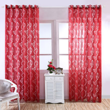 1 шт 3D лист тюлевые занавески для окна вуаль драпировка занавеска для гостиной отвесный шарф подзоры домашний текстиль украшение
