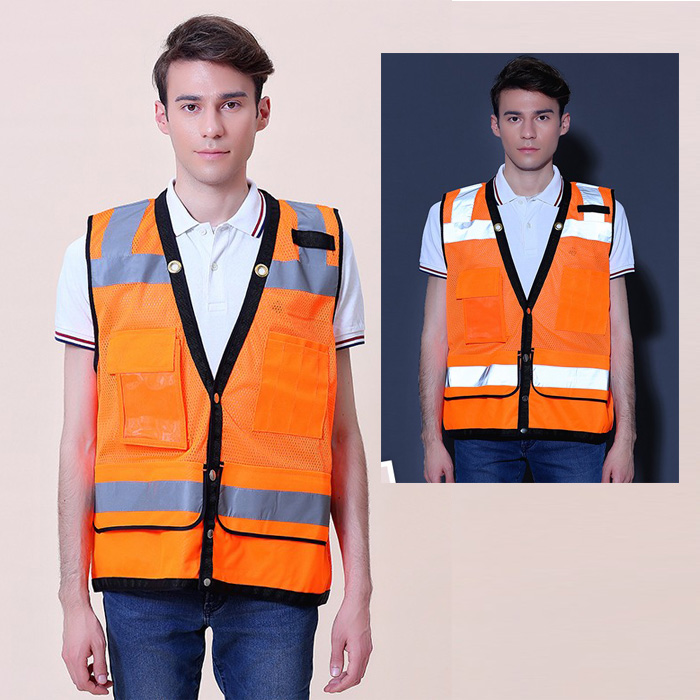 Romantic Sfvest En471 Hi Vis Vest Safety Vest With Logo Printing Workwear Safety Jacket Free Shipping Safety Clothing Workplace Safety Supplies