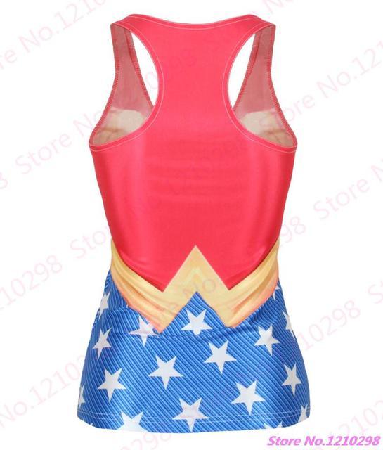 Wonder Woman Yoga Gym Top