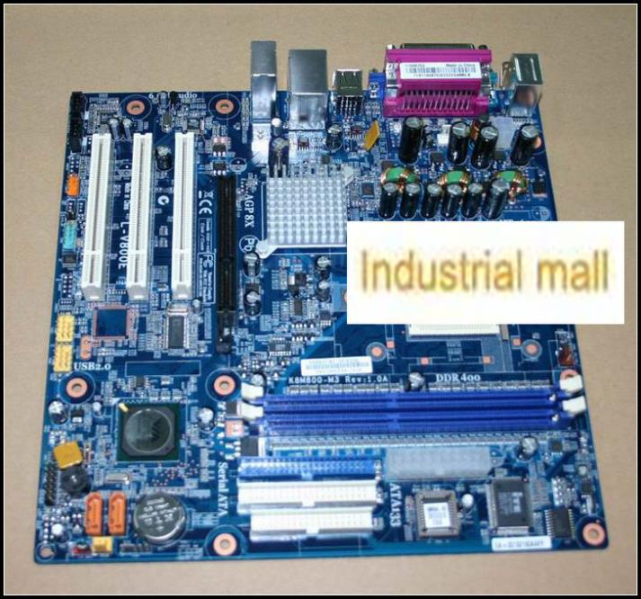 ФОТО K8m800-m3 l-v800e 754 motherboard ddr ram replacement 754 motherboard