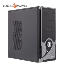 LOGIC POWER desktop Fashion game computer case New Arrivals 400wPower,80mm FAN,CD-ROMx2, HDDx1,PCIx7, USBx2, AUDIO In/Out #3916