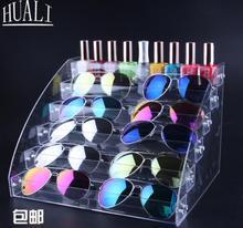 Glasses display shelf acrylic cabinet box
