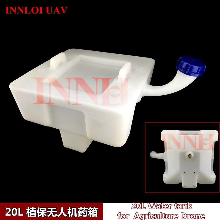DIY 20L Water Tank 20KG Pesticide Liquid Tank for Agriculture UAV Drone Using INNLOI UAV Custom