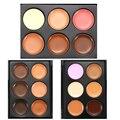 6 Colors  3D Concealer Face Contour Makeup Powder Foundation Cream Makeup Tools New Beauty Accessories