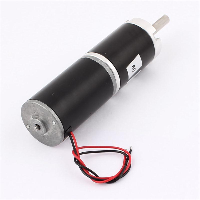 цена на DC 24V 40RPM 36mm Diameter Planetary High Torque Compact Gear Box Motor Speed Reducer DC Motor Electrical Equipment Supplies