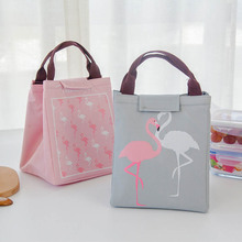 Baby Milk Bottle Insulation Bags Flamingo Waterproof Oxford Lunch Bag Infant Kids Food Warmer Thermal Bag disney milk food storage thermal bag warmer box baby feeding bottle thermal keeps drinks cool backpack mummy bags diaper bags