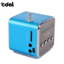 Blue Mini Portable Micro Red USB Mini Stereo Super Bass Speaker Music MP3/4 FM Radio Mini Hand Free Speaker Black
