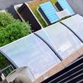 Exterior mount canopy aristada gazebo impermeable transparente paneles de policarbonato pc toldo de la puerta windowsillxia balcón cotans