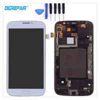 White For Samsung Galaxy Mega 5 8 I9150 I9152 Smartphone LCD Display Touch Screen Digitizer With
