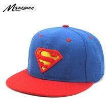 Niños Superman sombreros del SnapBack Batman gorras de béisbol Boy Girl  moda hip hop de la historieta de Superman sombrero al po. 626dd960aae