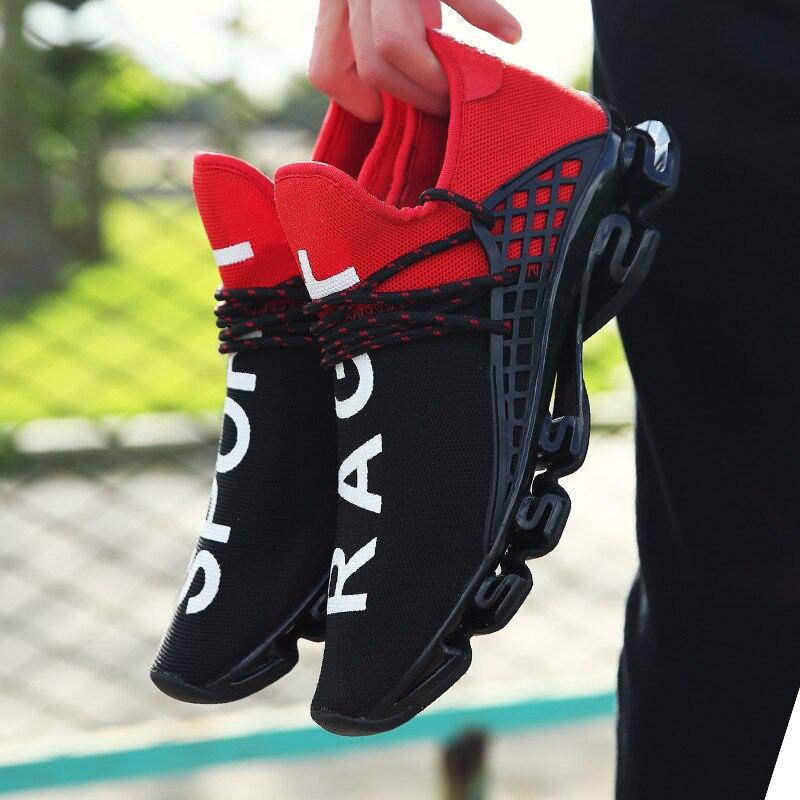 Nouveau noir slingshot chaussures de course amoureux respirant chaussures de Sport en plein air été amorti mâle résistant aux chocs semelle baskets 36-48