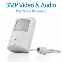 Doerguin H.265 3MP PoE PIR Cam Крытая Onvif ip-камера с невидимым ИК-светодиодный встроенным HD микрофоном для птичьих часов, домашних животных