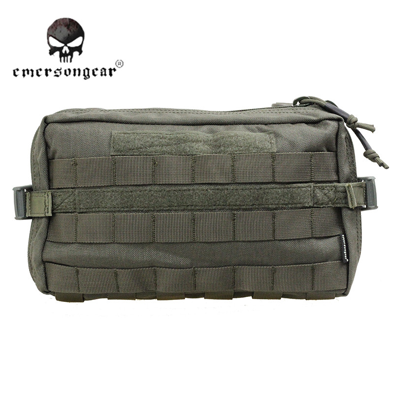ФОТО Emerson 1000D Hunting MOLLE Utility Fanny Pack Camping Tactical Vest Pouch Accessory Tool Bag Sport Military Waist Bag EM8347