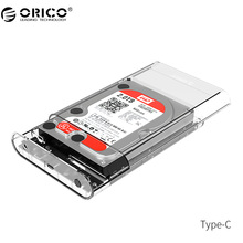 ORICO 3139C3 Type-C External Hard Drive Enclosure 3.5 inch  5Gbps SATA3.0 Support UASP 8TB Drives for Notebook Desktop PC