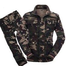 טקטי מדי הסוואה חליפות צבא Combat Jacket מטענים צפצף מדי טחונים טקטי CS Softair Mens בגדי עבודה