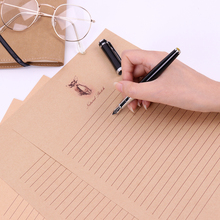 Buy 10 Sheets/Set New Letter Pad European Vintage Style Writing Paper Letter Good Quality Culture Office Stationery directly from merchant!