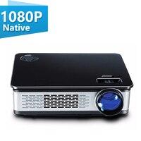 Unlimitv мультимедиа проектор Full HD 3 цвета 3000 люмен домашний проектор w светодиодный светодиодные лампы ЖК дисплей 300 дюймов экран дом видео обор