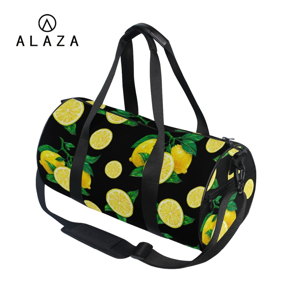 3D Fruits Printing Canvas Travel Bags Sport Outdoor Large Storage Tote Handbag Shoulder 2019