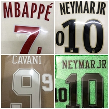 8f60bac49 New PSG CHOUPO-MOTING KIMPEMBE VERRATTI DI MARIA MBAPPE DRAXLER CAVANI  NEYMAR JR number font