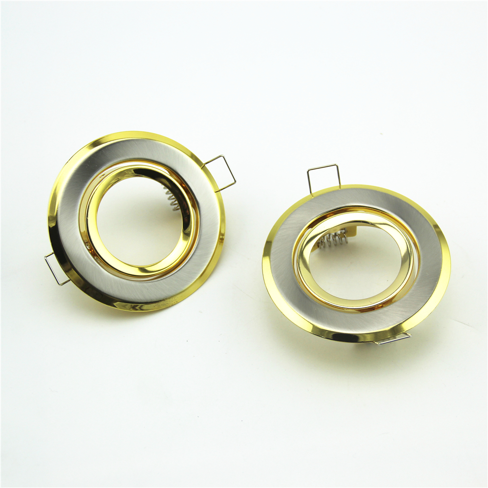 Recessed <font><b>LED</b></font> Downlight Fixtures Gu10 Mr16 Gu5.3 <font><b>E27</b></font> Spot Light <font><b>Led</b></font> Fittings