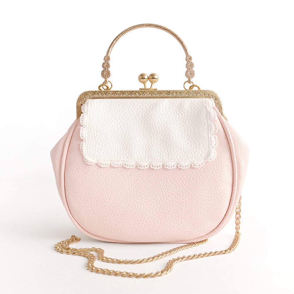 Princess sweet lolita bag Original girl soft sister Satchel Handbag little pig bag cute sprouting chain wrapped mouth bag CC123 цена