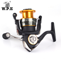 W.P.E T3500 Spinning Fishing Reel Water Resistant 10+1 Ball Beraings Light Weight Carbon Reel 5.1:1 Freshwater Fishing tackle
