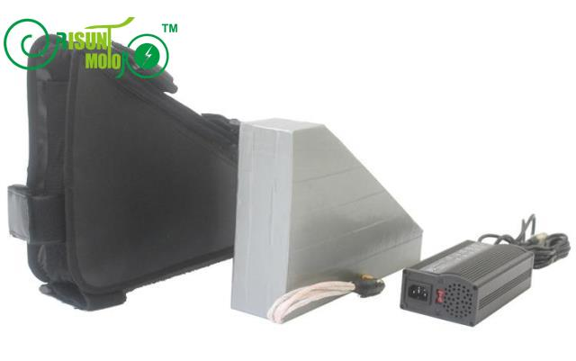 48V 31.5AH Triangle Ebike Battery With 3.7V Cell With Free BMS 5A Fast Charger Down Tube Lithium Battery For Electric Bike