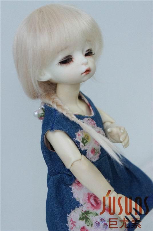 JD211 1/6 YOSD perruque poupée mohair Froz caractère perruques BJD - Poupées et accessoires - Photo 2
