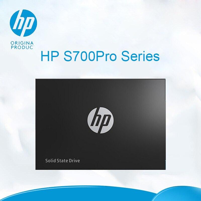 HP SSD 512 GB disque SSD interne S700 Pro 128g haute vitesse jusqu'à 550 mo/s SATA3 III données 3.0 disque pour ordinateurs et ordinateurs portables