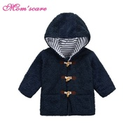 2017 Spring New Brand Boys Coat For 1 5 Years Kids Warm Jacket Children Moda Faux