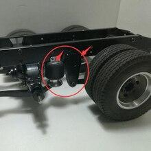 Tamiya truck upgrade parts airbag liftable suspension kits for 1/14 rc tamiya actors truck scania accessories R620 56323 MAN tgx lesu air discharge metal box 1 14 model tamiya scania r620 r470 rc tractor truck