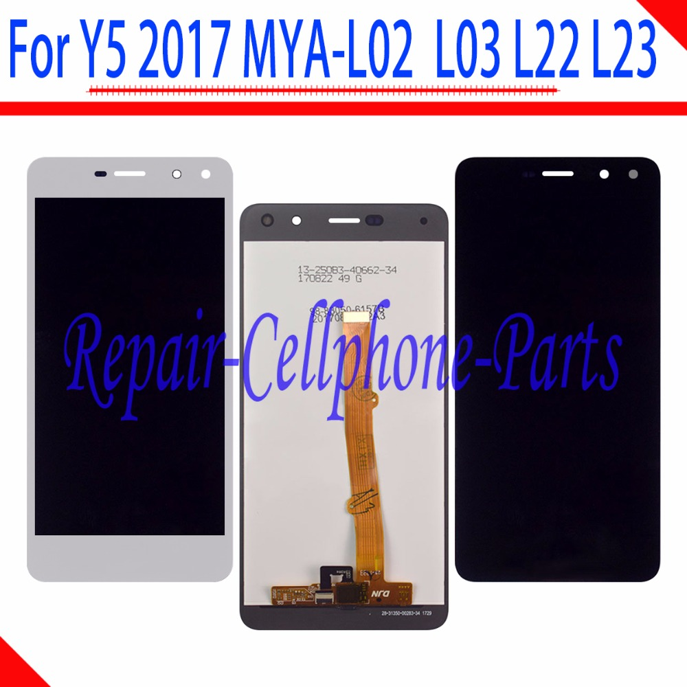 5.0 inch Full LCD DIsplay+Touch Screen Digitizer Assembly For Huawei Y5 2017 MYA-L02  MYA-L03 MYA-L22 MYA-L23 MYA-U295.0 inch Full LCD DIsplay+Touch Screen Digitizer Assembly For Huawei Y5 2017 MYA-L02  MYA-L03 MYA-L22 MYA-L23 MYA-U29