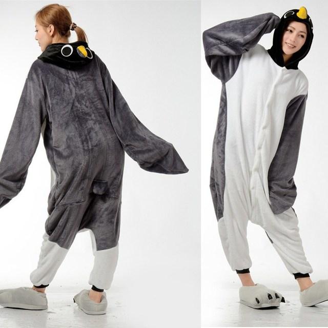 2353cb8f2d Funny Animal Costume Pajamas Onesies Flying Penguin For Adult Men And Women  One Piece Onesie Pajamas Sleepwear Jumpsuit