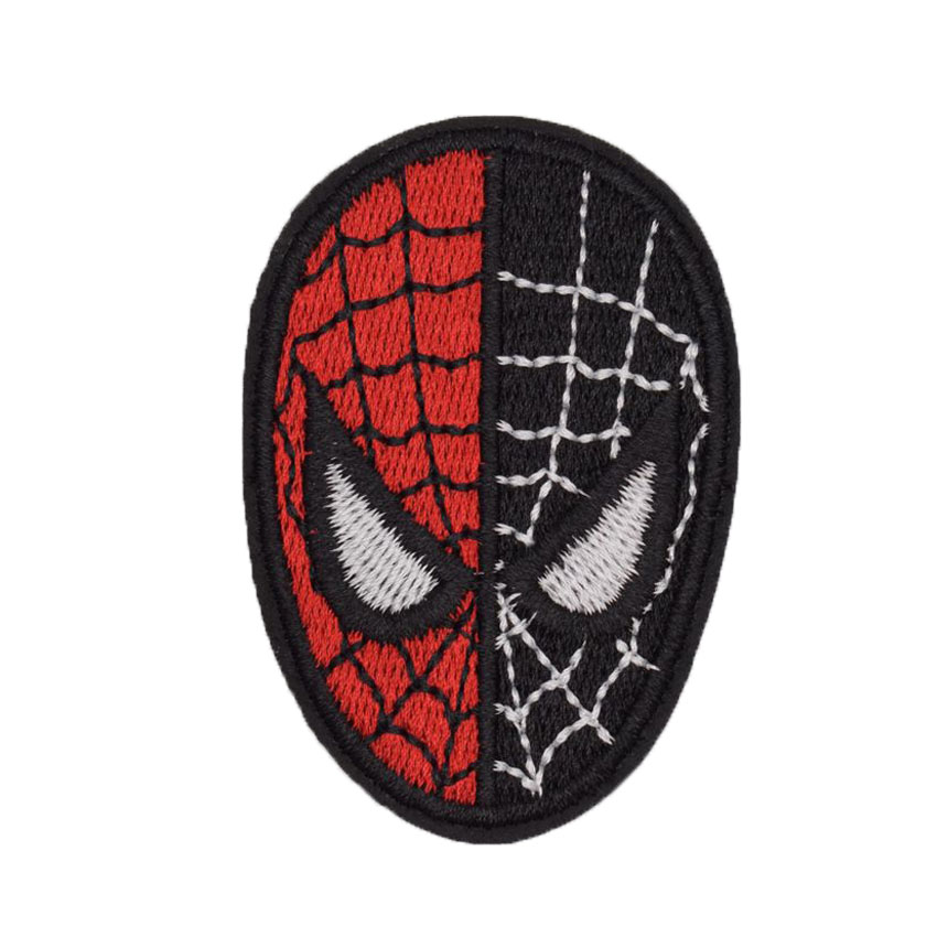 1Pcs Spider-man homecoming Mr Spiderman Amazing Spider Man Cool Embroidered Iron On Patch Applique Badge DIY Garment Accessories