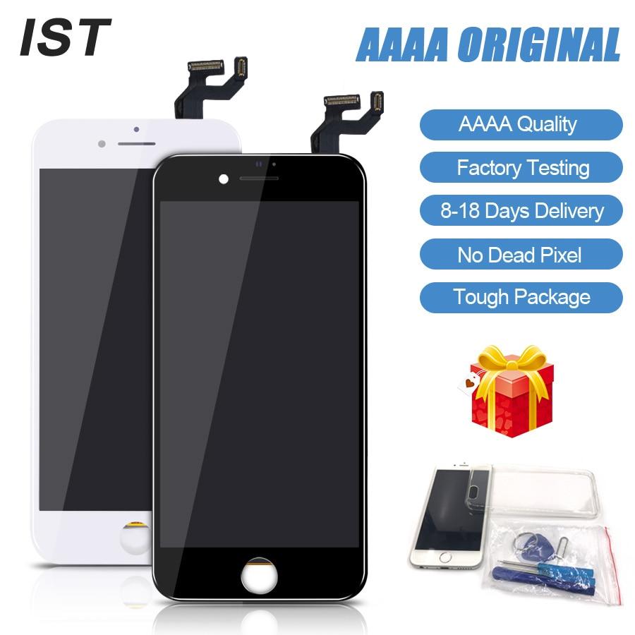 2018 nuevo IST AAAA sin píxeles muertos pantalla LCD para iPhone 6 s LCD 6 s Plus pantalla táctil Pantalla de repuesto LCDS con Kit de herramientas