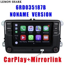 RCD330 Plus RCD330G Carplay Noname 6.5 MIB 차량용 라디오 RCD 330G 6RD 035 187B RCD510 VW 골프 용 5 6 Jetta CC Tiguan Passat Polo