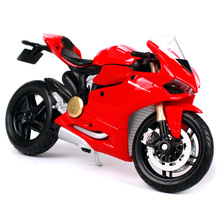 Maisto 1:18 Ducati red racing motorcycle diecast toy model diecasts fresh emulation motorbike 11092