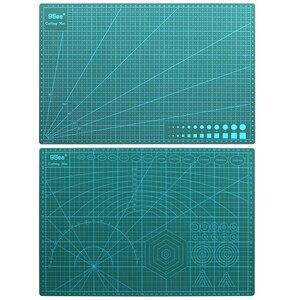 Image 2 - A3 PVC kendinden şifa kesme Mat kumaş deri kağıt zanaat DIY araçları çift taraflı şifa kesme tahtası