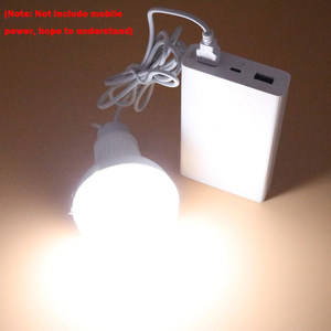 Image 5 - USB led camping lamp 5V 9W LED Bulb Light portable Lamp With switch for hiking camping Tent travel Work With Power Bank Notebook