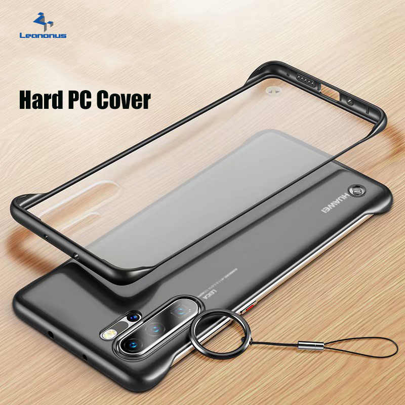 P30 Pro Slim PC Case For Huawei P20 Pro Case Shockproof Clear Hard Plastic Back Cover For Huawei Mate 20 10 Pro 20X Case P20 Pro Mate 30 30 Pro Funda