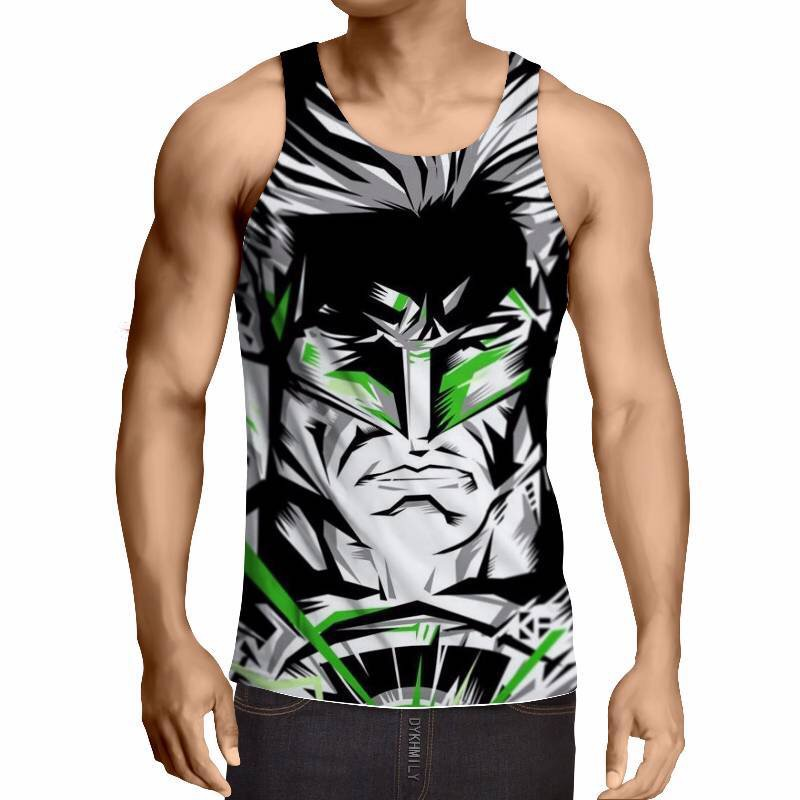 EU Size Summer Vest   Tank     Tops   Men Women Male Cartoon   Top  &Tee Fitness Fashion Sleeveless Cool Bodybuilding Streetwear ZOOTOP BEAR