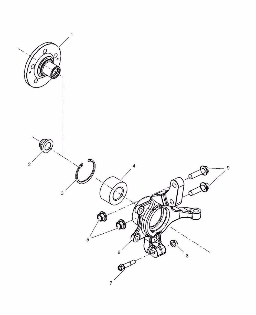 1 pcs avant moyeu entraînement bride pour chinois SAIC ROEWE 350 360 MG5 GT Auto voiture moteur pièces 10147619 - 2