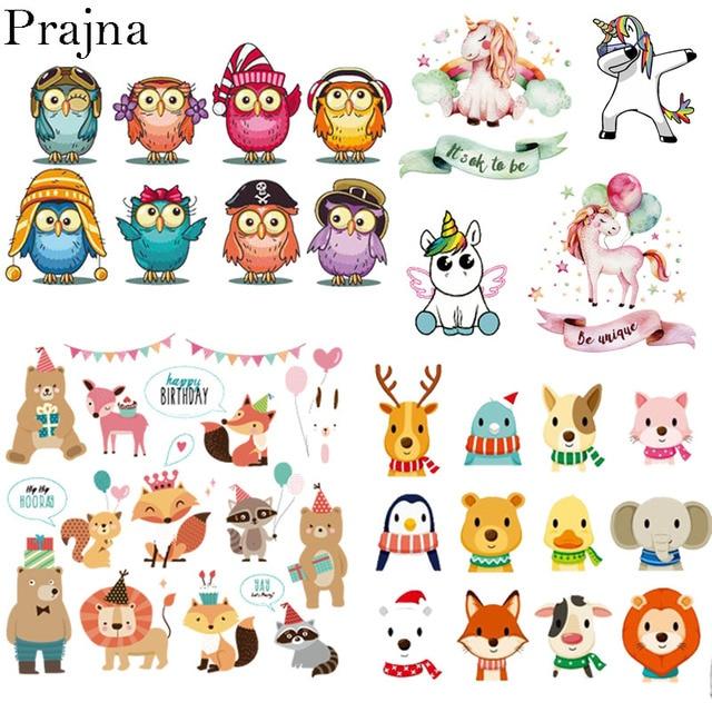 Prajna Cartoon PVC Patch Iron On Transfers For Clothes Printable
