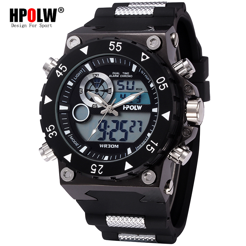 Punk Cool Digital Watch Relogio Masculino Army Big Design New Sport Watch Style Waterproof LED Sports Military Watches автоинструменты new design autocom cdp 2014 2 3in1 led ds150