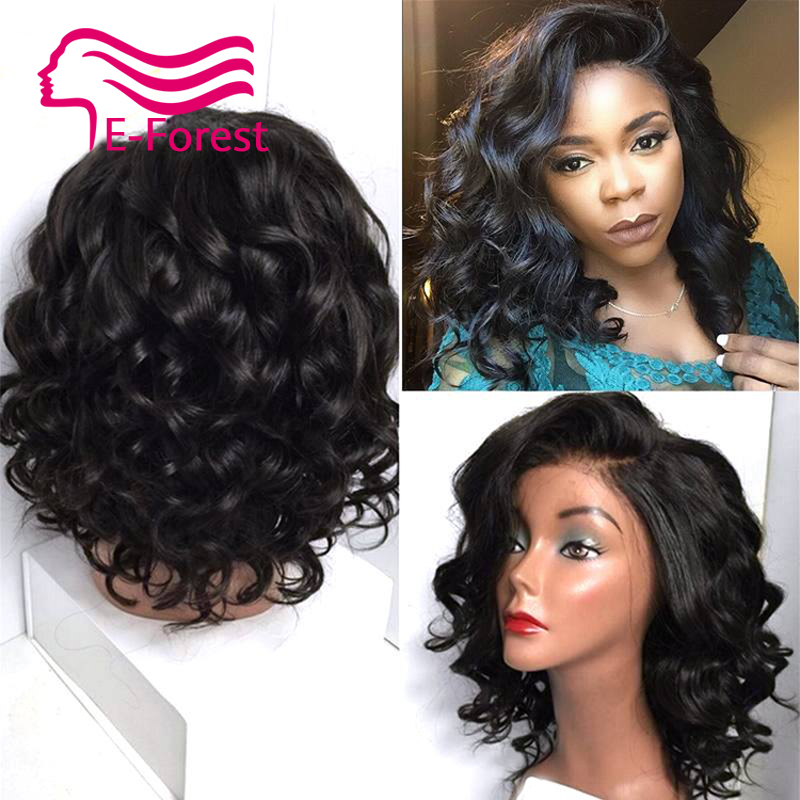 Sexy Full Lace Human Hair Wigs for Black Women Glueless Brazilian Virgin Hair Body Wave Lace